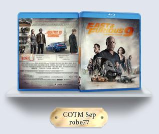 F9: The Fast Saga (2021) Blu-ray Cover