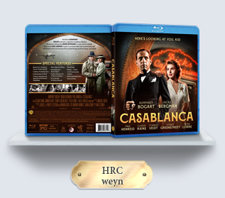 Casablanca (1942) Blu-ray Cover