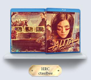 Alita Battle Angel (2019) Blu-ray Cover