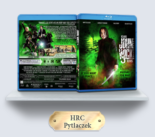 John Wick 3 Parabellum (2019) Blu-ray Cover
