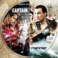 Captain America: Civil War (2016) & Under Siege (1992) Blu-ray Label