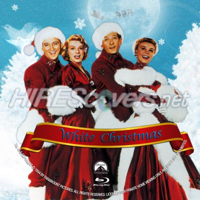 white christmas dvd cover dvd label blu ray cover blu ray