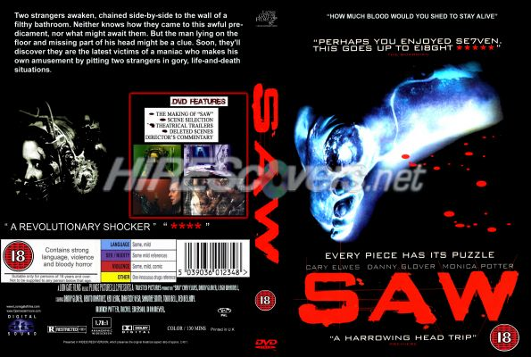 Saw Movies Dvd Covers Saw Dvd Cover Dvd Label