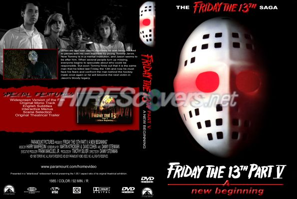 DVD Cover Custom DVD covers BluRay label movie art - DVD CUSTOM Covers - F / Friday The 13th ...