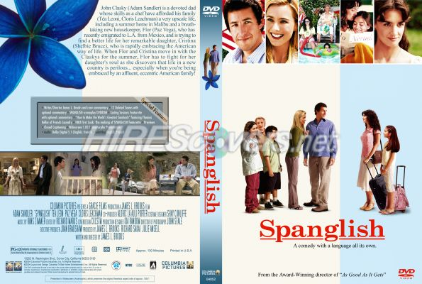 analysis of the movie spanglish Amazoncom: spanglish [blu-ray]: paz vega, cloris leachman, adam sandler,  tea leoni, james l brooks: movies & tv  i don't know why the movie did not  do well at release when i watch the movie, i enjoy and not just bisect and  analyze.