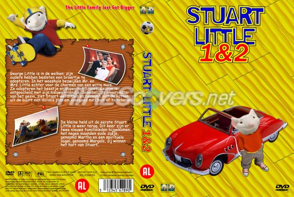 Dvd Cover Custom Dvd Covers Bluray Label Movie Art Dvd Custom Covers S Stuart Little 1 2