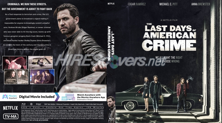 Dvd Cover Custom Dvd Covers Bluray Label Movie Art Blu Ray Custom Covers L Last Days Of American Crime The 2020