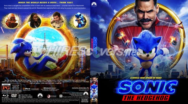 Dvd Cover Custom Dvd Covers Bluray Label Movie Art Blu Ray Custom Covers S Sonic The Hedgehog 2020