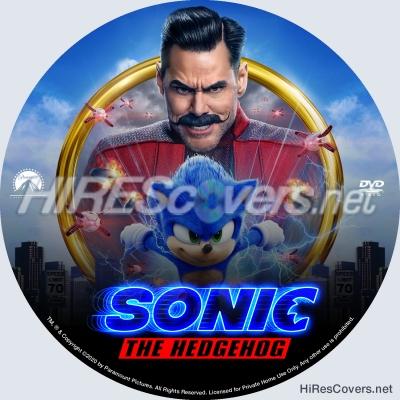 Dvd Cover Custom Dvd Covers Bluray Label Movie Art Dvd Custom Labels S Sonic The Hedgehog 2020