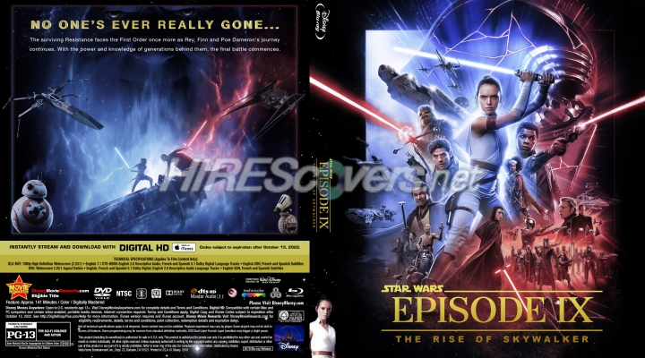 Dvd Cover Custom Dvd Covers Bluray Label Movie Art Blu Ray Custom Covers S Star Wars Episode Ix The Rise Of Skywalker 2019