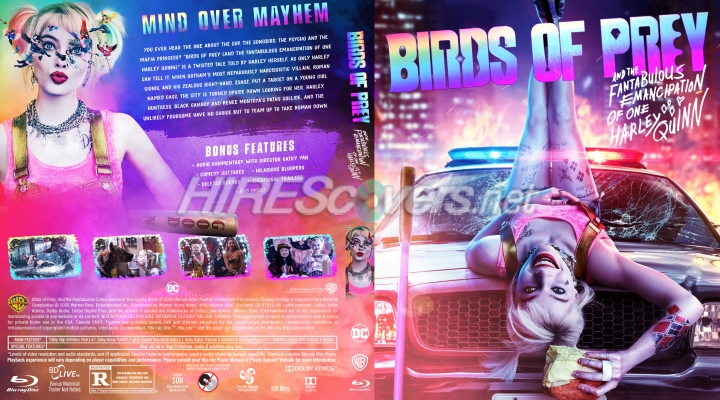 Dvd Cover Custom Dvd Covers Bluray Label Movie Art Blu Ray Custom Covers B Birds Of Prey And The Fantabulous Emancipation Of One Harley Quinn 2020