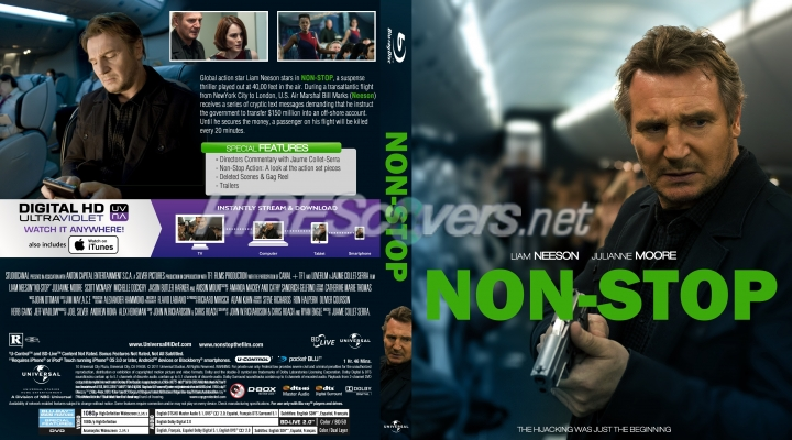 Non Stop Blu Ray Cover | www.imgkid.com - The Image Kid ...