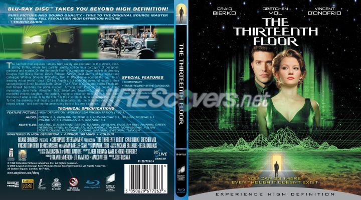 Dvd cover custom dvd covers bluray label movie art blu for 13th floor movie online