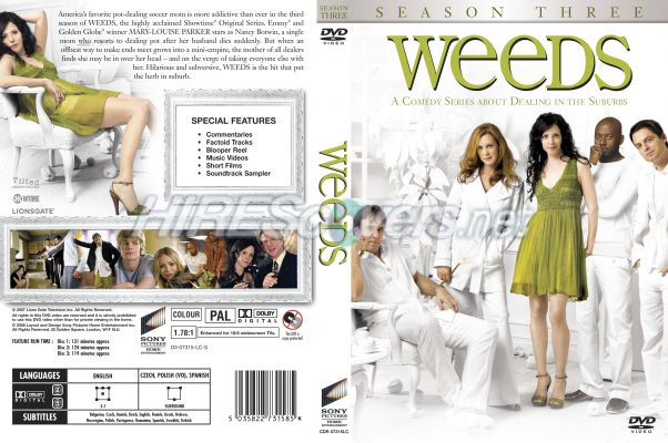 weeds season 3 dvd cover. weeds season 3 dvd cover.