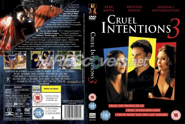 the antisocial personality disorder in the movie cruel intentions It was 2003 and one of the movies we watched together with antisocial personality disorder and a charismatic borderline is cruel intentions.