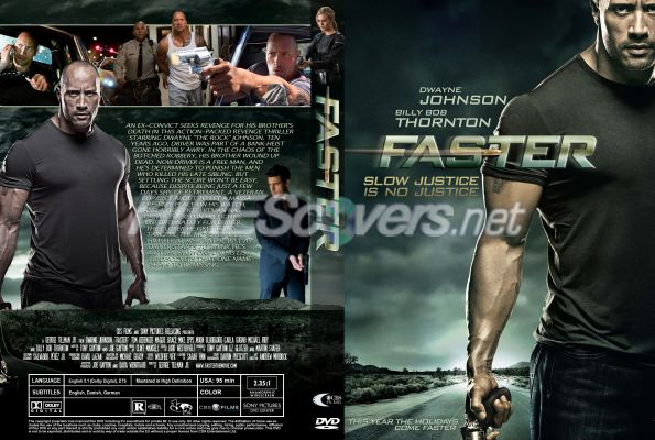 Custom DVD Cover Art - DVD CUSTOM Covers - F / Faster
