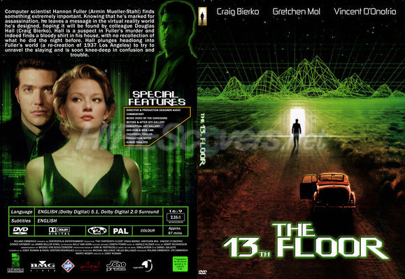 Superior 13th Floor, The DVD Cover, DVD Label, Blu Ray Cover, Blu