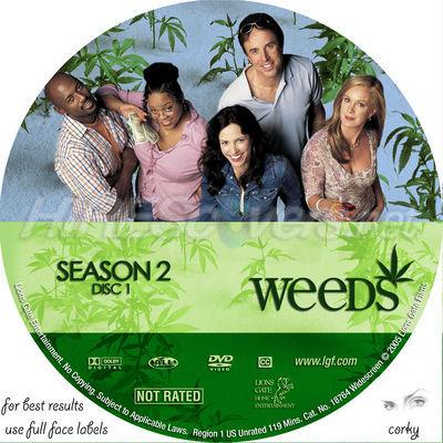 weeds season 1 cover. Weeds Season 2 Disc 1 by me :)
