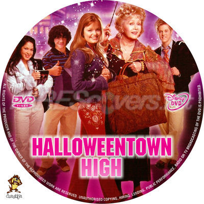 halloweentown high dvd cover dvd label blu ray cover blu ray
