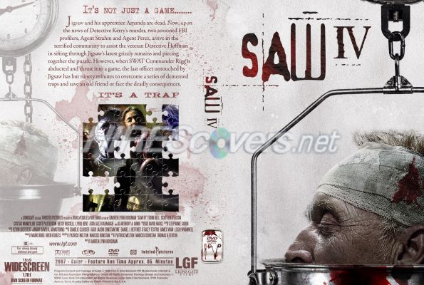 Saw Movies Dvd Covers Saw iv Dvd Cover Dvd Label
