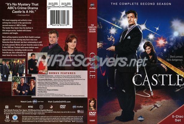 Castle Season 2 Dvd Cover