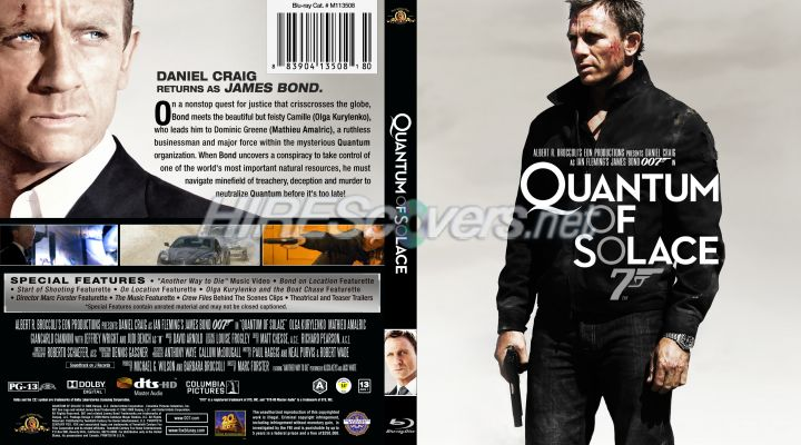 Quantum of solace dvd cover
