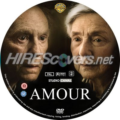 Custom DVD BluRay label Cover Art - DVD Labels & Inserts - A / Amour