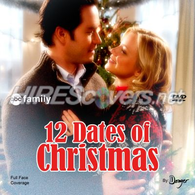 12 dates of christmas dvd cover dvd label blu ray cover blu - 12 Dates Of Christmas Movie