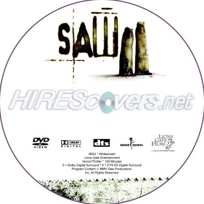 Saw Movies Dvd Covers Saw 2 Dvd Cover Dvd Label