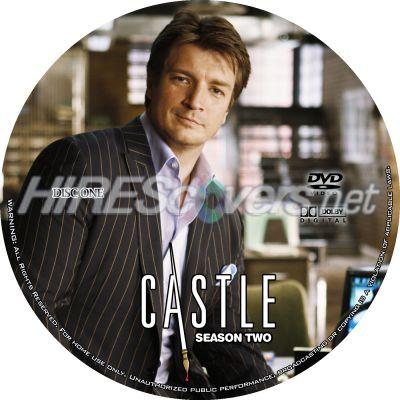 Castle Season 2 Disc 1 Dvd