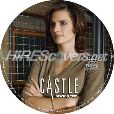 Castle Season 2 Disc 2 Dvd