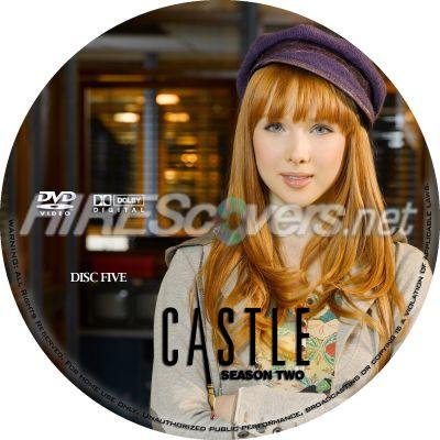 Castle Season 2 Disc 5 Dvd
