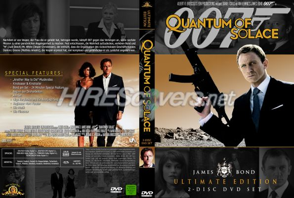 quantum of solace dvd cover - photo #26