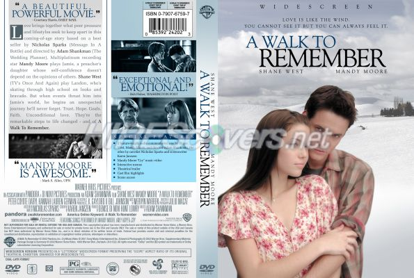 walk to remember essay Based on the book by nicholas sparks (also responsible for the recent message in a bottle), a walk to remember is just what its title implies.