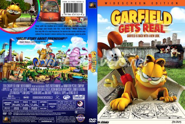 Dvd Cover Custom Dvd Covers Bluray Label Movie Art Dvd Custom Covers G Garfield Gets Real