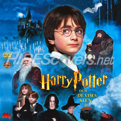 harry potter og de vises sten dvd