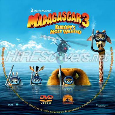 Madagascar 3 DVD Menu