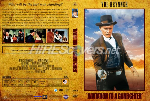 Dvd cover custom dvd covers bluray label movie art dvd custom western collection 33 invitation to a gunfighter 1964 dvd cover dvd label blu stopboris Gallery