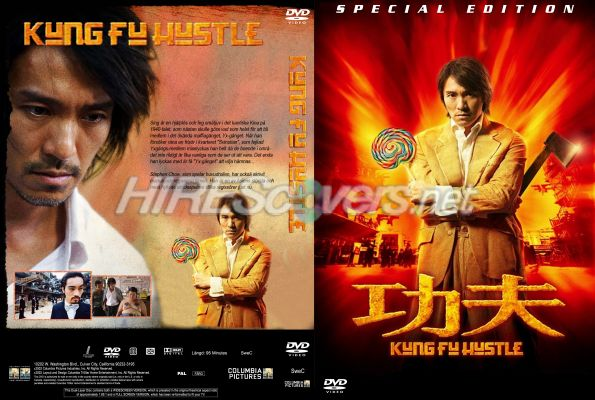 Dvd cover kung fu hustler