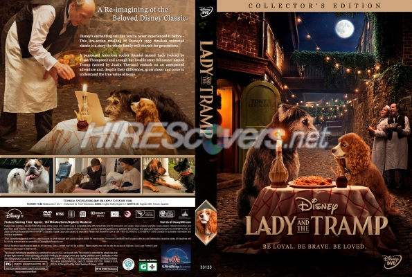 Dvd Cover Custom Dvd Covers Bluray Label Movie Art Dvd Custom Covers L Lady And The Tramp 2019