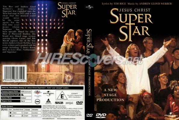dvd jesus christ superstar