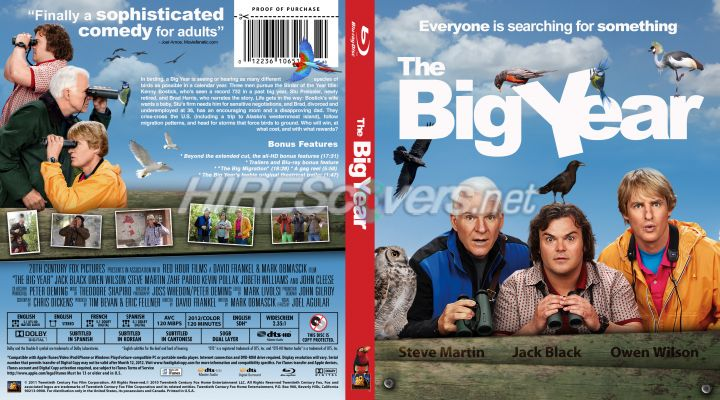 The Big Year - Movie Blu-Ray Custom Covers - Copy of The ...  |The Big Year Dvd