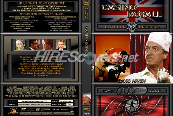 casino royale 1954 dvd