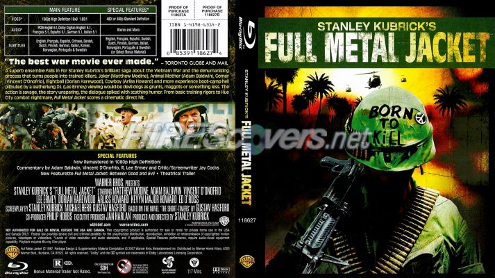 Full Metal Jacket BR Cover