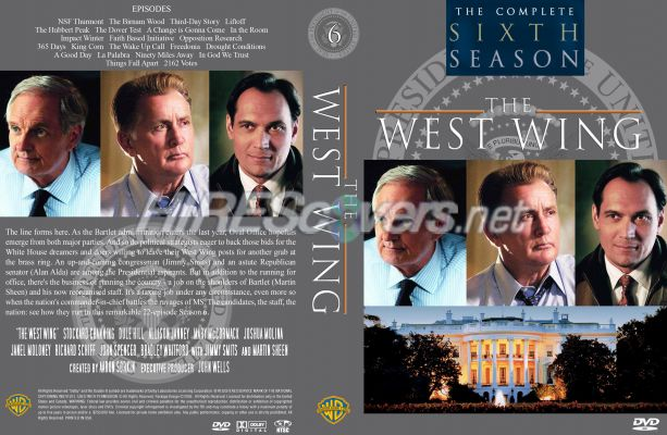 dvd cover custom dvd covers bluray label movie art dvd custom covers w west wing. Black Bedroom Furniture Sets. Home Design Ideas
