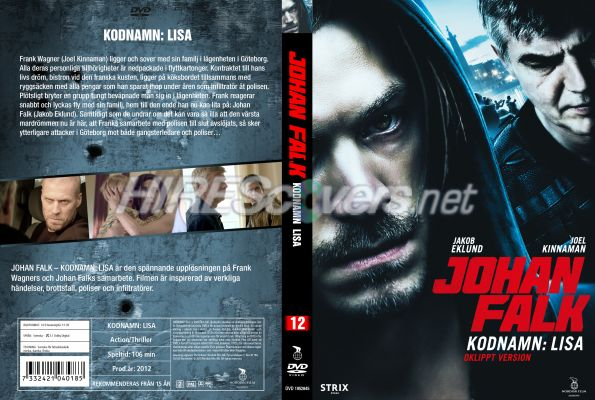 Johan Falk Kodnamn Lisa Dvd Cover Dvd Label Blu Ray Cover