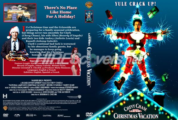 national lampoons christmas vacation dvd cover dvd label blu ray cover blu - National Lampoons Christmas Vacation Dvd
