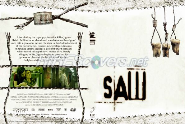 Saw Movies Dvd Covers Saw Iii Dvd Cover Dvd Label