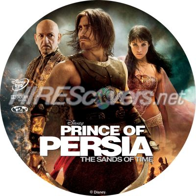Dvd Cover Custom Dvd Covers Bluray Label Movie Art Dvd Custom Labels P Prince Of Persia The Sands Of Time R2 Label