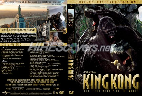 king kong blu ray cover